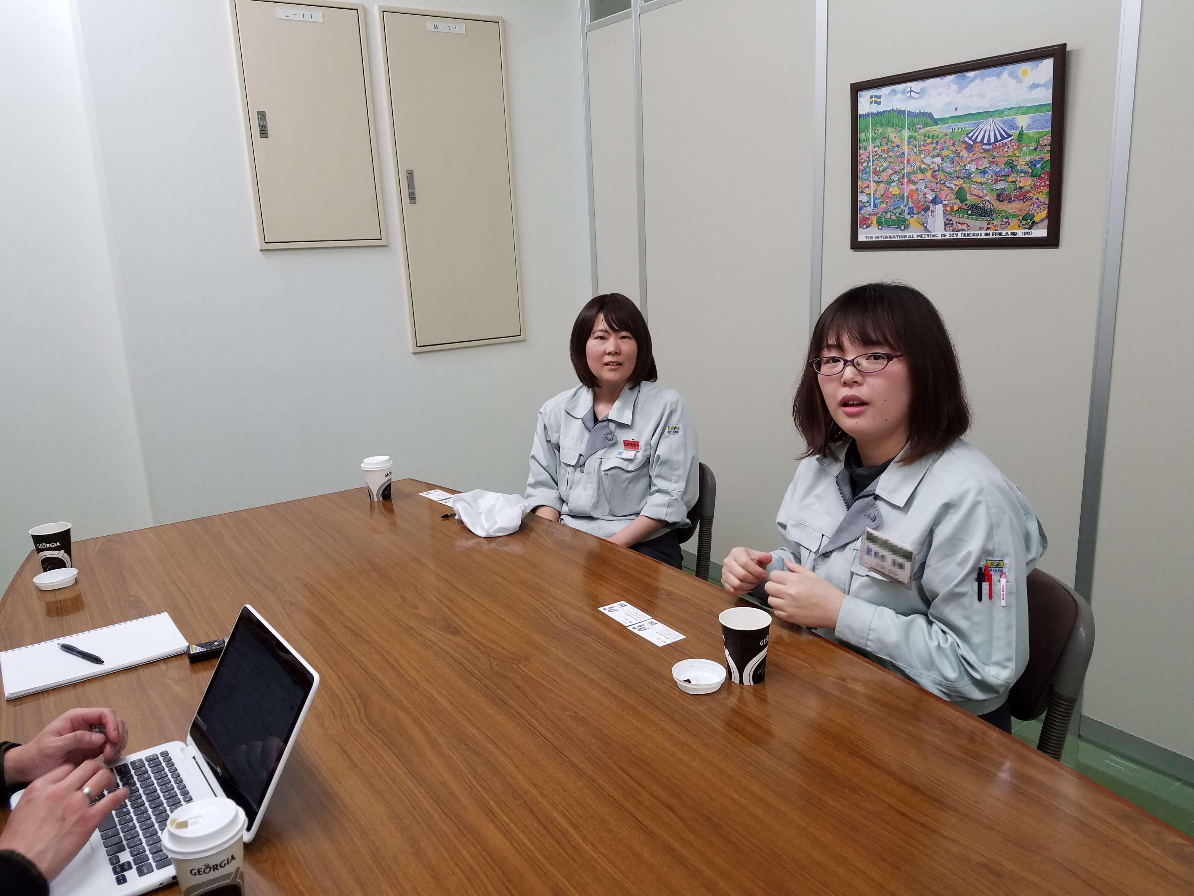 女性が働きやすい会社、金津技研をインタビュー