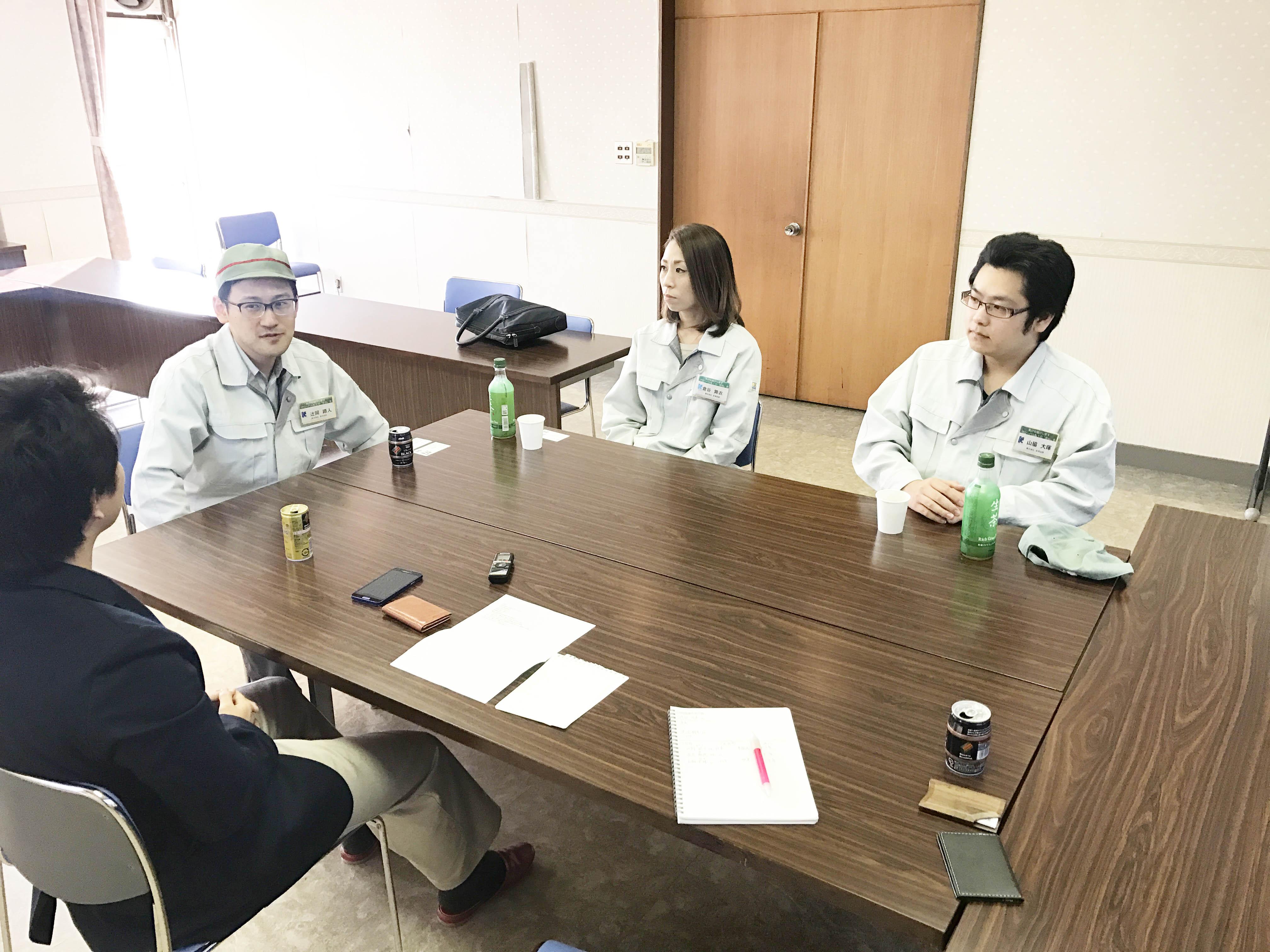 契約社員から正社員!金津技研スタッフとグループインタビュー